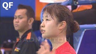 【Video】Nozomi OKUHARA VS LEE Chia Hsin, khác Giải vô địch cúp E-Plus Châu Á năm 2018