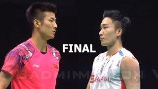 【Video】Kento MOMOTA VS CHEN Long, chung kết Giải vô địch cầu lông châu Á 2018