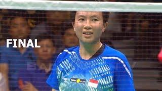 【Video】WANG Yilyu・HUANG Dongping VS Tontowi AHMAD・Liliyana NATSIR, chung kết Giải vô địch cầu lông châu Á 2018