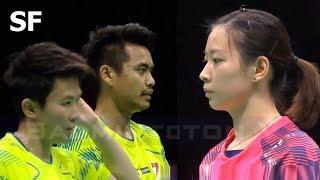 【Video】Tontowi AHMAD・Liliyana NATSIR VS ZHENG Siwei・HUANG Yaqiong, bán kết Giải vô địch cầu lông châu Á 2018