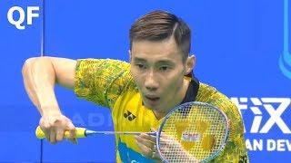 【Video】LEE Chong Wei VS KIDAMBI Srikanth, tứ kết Giải vô địch cầu lông châu Á 2018
