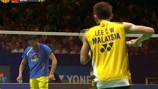 【Video】LIN Dan VS LEE Chong Wei, khác YONEX Tất cả Giải vô địch Cầu lông Anh Mở rộng 2012
