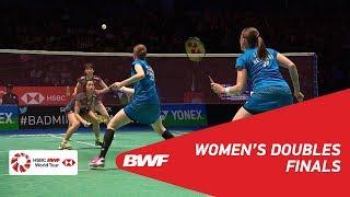【Video】Kamilla Rytter JUHL・Christinna PEDERSEN VS Yuki FUKUSHIMA・Sayaka HIROTA, chung kết YONEX Tất cả tuyển Anh mở 2018