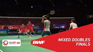 【Video】Yuta WATANABE・Arisa HIGASHINO VS ZHENG Siwei・HUANG Yaqiong, chung kết YONEX Tất cả tuyển Anh mở 2018