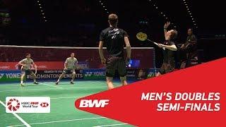 【Video】Mathias BOE・Carsten MOGENSEN VS Hiroyuki ENDO・Yuta WATANABE, bán kết YONEX Tất cả tuyển Anh mở 2018