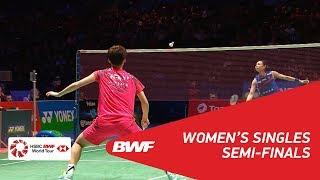 【Video】TAI Tzu Ying VS CHEN Yufei, bán kết YONEX Tất cả tuyển Anh mở 2018