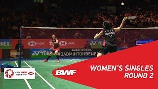 【Video】TAI Tzu Ying VS Busanan ONGBAMRUNGPHAN, vòng 16 YONEX Tất cả tuyển Anh mở 2018