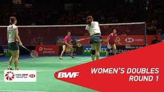【Video】Misaki MATSUTOMO・Ayaka TAKAHASHI VS Ashwini PONNAPPA・REDDY N. Sikki, vòng 32 YONEX Tất cả tuyển Anh mở 2018