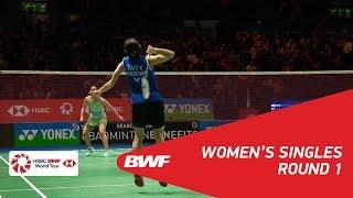 【Video】TAI Tzu Ying VS Saina NEHWAL, vòng 32 YONEX Tất cả tuyển Anh mở 2018