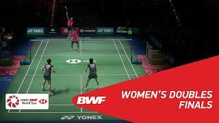 【Video】Yuki FUKUSHIMA・Sayaka HIROTA VS HUANG Dongping・YU Zheng, chung kết YONEX German Open 2018