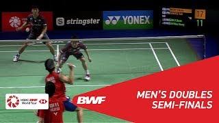 【Video】Takuto INOUE・Yuki KANEKO VS GOH V Shem・TAN Wee Kiong, bán kết YONEX German Open 2018