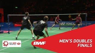 【Video】Mathias BOE・Carsten MOGENSEN VS Tinn ISRIYANET・Kittisak NAMDASH, chung kết YONEX Swiss Open 2018