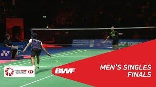 【Video】Jan O JORGENSEN VS Sameer VERMA, chung kết YONEX Swiss Open 2018