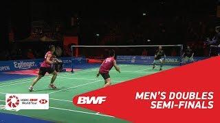 【Video】Tinn ISRIYANET・Kittisak NAMDASH VS Maneepong JONGJIT・Nanthakarn YORDPHAISONG, bán kết YONEX Swiss Open 2018