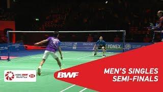 【Video】Kantaphon WANGCHAROEN VS Sameer VERMA, bán kết YONEX Swiss Open 2018