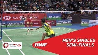 【Video】SHI Yuqi VS Iskandar ZULKARNAIN, bán kết YONEX-SUNRISE DR. AKHILESH DAS GUPTA India Mở 2018