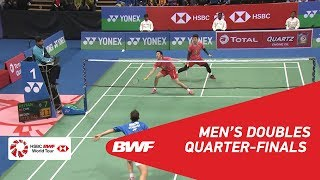 【Video】Kim ASTRUP・Anders Skaarup RASMUSSEN VS HE Jiting・TAN Qiang, tứ kết YONEX-SUNRISE DR. AKHILESH DAS GUPTA India Mở 2018