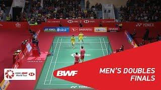 【Video】Marcus Fernaldi GIDEON・Kevin Sanjaya SUKAMULJO VS LI Junhui・LIU Yuchen, chung kết DAIHATSU Indonesia Masters 2018
