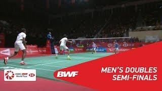 【Video】Marcus Fernaldi GIDEON・Kevin Sanjaya SUKAMULJO VS Satwiksairaj RANKIREDDY・Chirag SHETTY, bán kết DAIHATSU Indonesia Maste