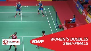 【Video】Greysia POLII・Apriyani RAHAYU VS LEE So Hee・SHIN Seung Chan, bán kết DAIHATSU Indonesia Masters 2018