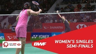 【Video】Ratchanok INTANON VS Saina NEHWAL, bán kết DAIHATSU Indonesia Masters 2018