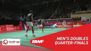 【Video】Satwiksairaj RANKIREDDY・Chirag SHETTY VS Mads CONRAD-PETERSEN・Mads Pieler KOLDING, tứ kết DAIHATSU Indonesia Masters 2018