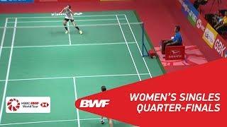 【Video】Nozomi OKUHARA VS Ratchanok INTANON, tứ kết DAIHATSU Indonesia Masters 2018
