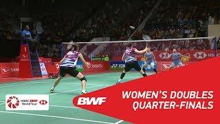 【Video】Greysia POLII・Apriyani RAHAYU VS CHAE YuJung・KIM Hye Rin, tứ kết DAIHATSU Indonesia Masters 2018