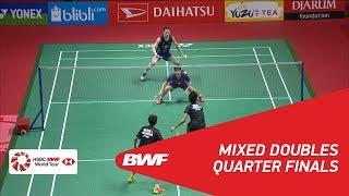 【Video】Tontowi AHMAD・Liliyana NATSIR VS ZHANG Nan・LIU Xuanxuan, tứ kết DAIHATSU Indonesia Masters 2018