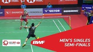 【Video】Hans-Kristian Solberg VITTINGHUS VS Kenta NISHIMOTO, bán kết PERODUA Malaysia Masters 2018