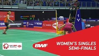 【Video】TAI Tzu Ying VS Carolina MARIN, bán kết PERODUA Malaysia Masters 2018
