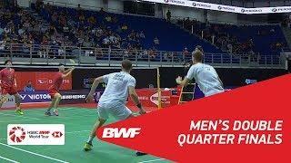 【Video】Mads CONRAD-PETERSEN・Mads Pieler KOLDING VS LI Junhui・LIU Yuchen, tứ kết PERODUA Malaysia Masters 2018