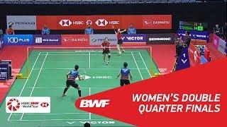 【Video】LEE So Hee・SHIN Seung Chan VS Misaki MATSUTOMO・Ayaka TAKAHASHI, tứ kết PERODUA Malaysia Masters 2018