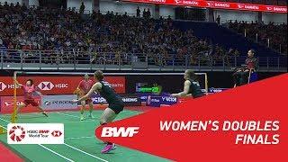 【Video】Kamilla Rytter JUHL・Christinna PEDERSEN VS CHEN Qingchen・JIA Yifan, chung kết PERODUA Malaysia Masters 2018