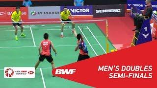 【Video】GOH V Shem・TAN Wee Kiong VS CHEN Hung Ling・WANG Chi-Lin, bán kết PERODUA Malaysia Masters 2018