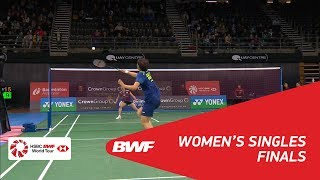 【Video】CAI Yanyan VS Ayumi MINE, chung kết CROWN GROUP Australian Open 2018