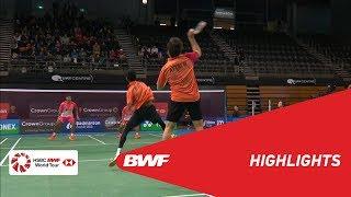 【Video】Berry ANGRIAWAN・Hardianto HARDIANTO VS ATTRI Manu・REDDY B. Sumeeth, bán kết CROWN GROUP Australian Open 2018