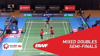 【Video】CHAN Peng Soon・GOH Liu Ying VS WANG Zekang・LI Yinhui, bán kết CROWN GROUP Australian Open 2018