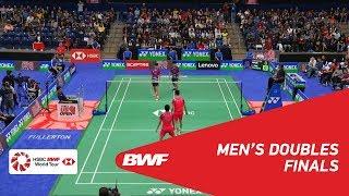 【Video】OU Xuanyi・Xiangyu REN VS Min Hyuk KANG・KIM Won Ho, chung kết 2018 YONEX US Open