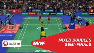 【Video】CHAN Peng Soon・GOH Liu Ying VS Mark LAMSFUSS・Isabel HERTTRICH, bán kết 2018 YONEX US Open