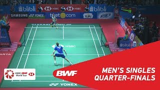 【Video】Viktor AXELSEN VS Kanta TSUNEYAMA, tứ kết BLIBLI Indonesia Mở 2018