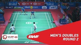 【Video】LIAO Min Chun・SU Ching Heng VS Hiroyuki ENDO・Yuta WATANABE, vòng 16 BLIBLI Indonesia Mở 2018