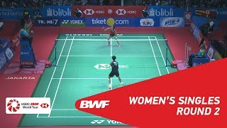 【Video】Saina NEHWAL VS CHEN Yufei, vòng 16 BLIBLI Indonesia Mở 2018