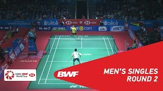 【Video】Anthony Sinisuka GINTING VS Kento MOMOTA, vòng 16 BLIBLI Indonesia Mở 2018