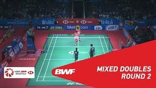 【Video】Tontowi AHMAD・Liliyana NATSIR VS Yugo KOBAYASHI・Misaki MATSUTOMO, vòng 16 BLIBLI Indonesia Mở 2018