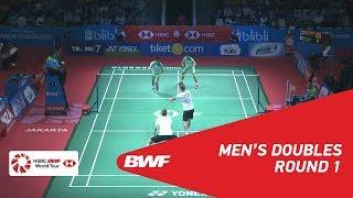 【Video】Mads CONRAD-PETERSEN・Mads Pieler KOLDING VS CHEN Hung Ling・WANG Chi-Lin, vòng 32 BLIBLI Indonesia Mở 2018