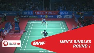 【Video】Mark CALJOUW VS Anthony Sinisuka GINTING, vòng 32 BLIBLI Indonesia Mở 2018