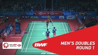 【Video】Ricky KARANDASUWARDI・Angga PRATAMA VS HE Jiting・TAN Qiang, vòng 32 BLIBLI Indonesia Mở 2018