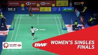 【Video】Nozomi OKUHARA VS PUSARLA V. Sindhu, chung kết TOYOTA Thái Lan mở 2018