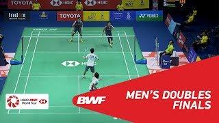 【Video】Takeshi KAMURA・Keigo SONODA VS Hiroyuki ENDO・Yuta WATANABE, chung kết TOYOTA Thái Lan mở 2018